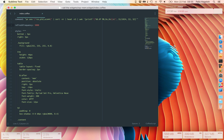 widget downloads for mac
